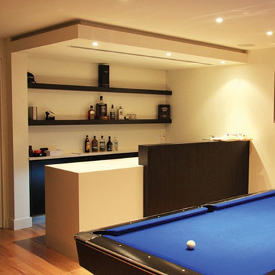 Custom Entertainment Areas Mornington Peninsula from Hartnett Cabinets
