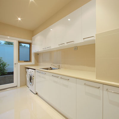 Custom Laundries Mornington Peninsula from Hartnett Cabinets
