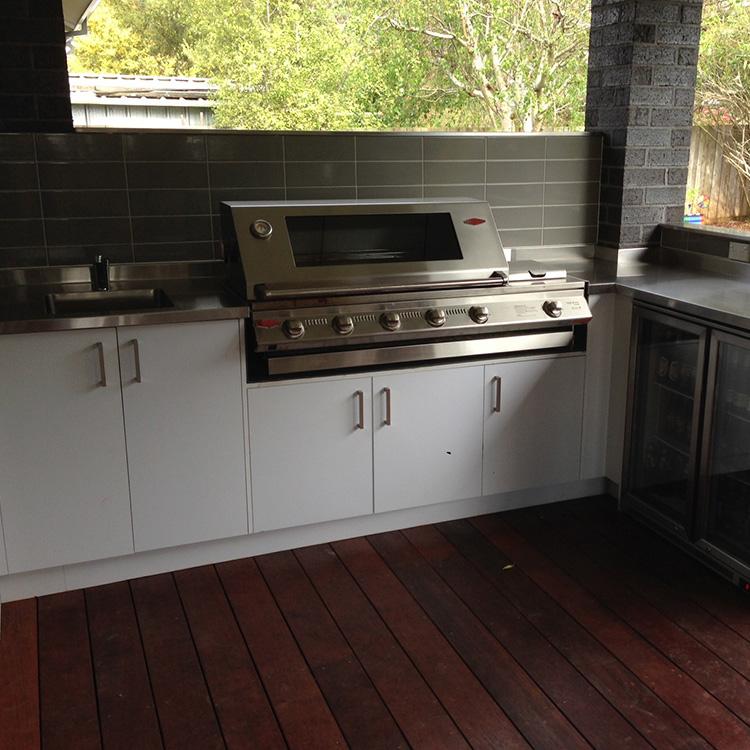 Hartnett Cabinets - Outdoor Area Cabinets Mornington